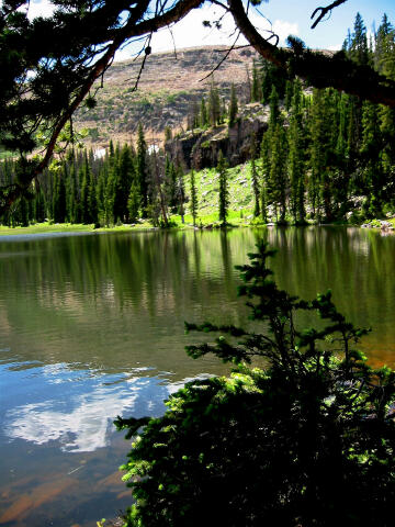 Fehr Lake Uinta Mtns