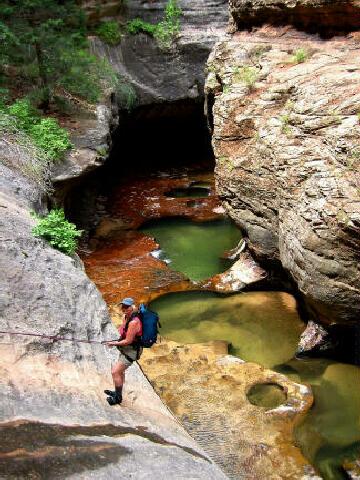 Subway Zion National Park Canyoneering